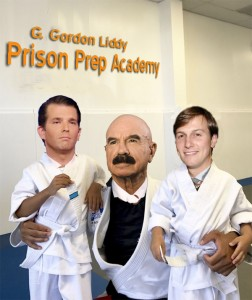 G.Gordon Liddy ,Trump Jr, J Kushner