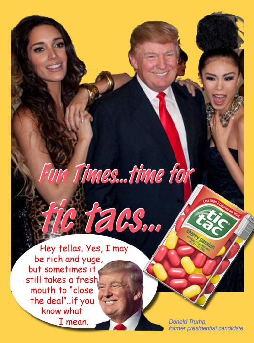 Trump Tic Tac ad