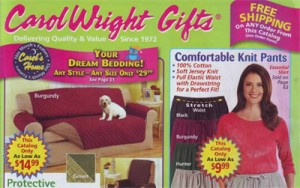 Carol Wright Gift catalogue cover
