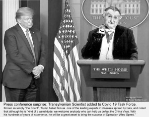 Trump and Grandpa Munster (Al Lewis)