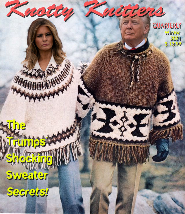 Knotty Knitter magazine cover